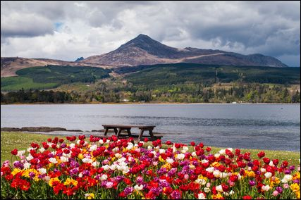 Brodick bay, Arran, Scotland