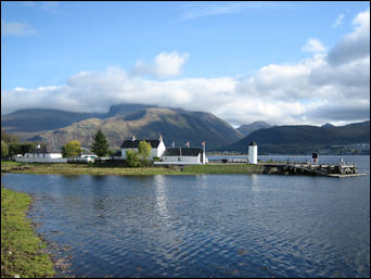Corpach and Ben Nevis