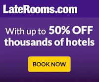 LateRooms discount hotel rooms