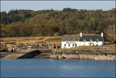 Ulva boathouse, Isle of Mull, Scotland